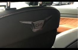 SsangYong Rexton, 2017, seat back G4 emblem