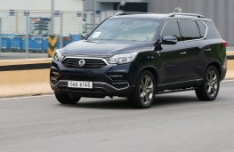 SsangYong Rexton, 2017, front, action
