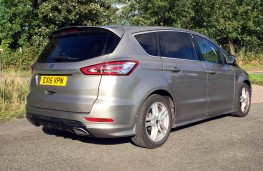 Ford S-MAX Titanium Sport, 2016, rear, static