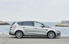 Ford S-MAX Titanium Sport, 2016, side