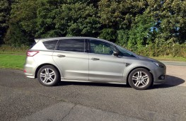 Ford S-MAX Titanium Sport, 2016, side, static