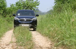 SsangYong Rexton, 2017, off road, track