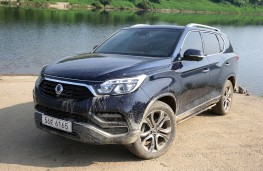 SsangYong Rexton, 2017, off road, front