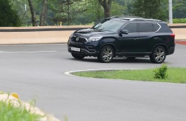 SsangYong Rexton, 2017, side, action