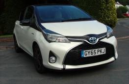 Toyota Yaris Hybrid Design, front