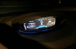 Peugeot 3008 GT, 2017, instrument panel, night