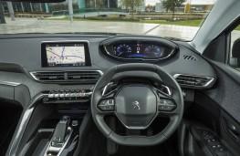 Peugeot 3008, 2017, interior