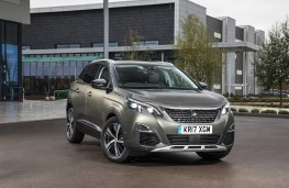 Peugeot 3008, 17 plate, front
