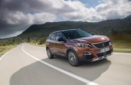 Peugeot 3008, 2017, front, action