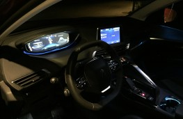 Peugeot 3008 GT, 2017, interior, night