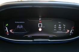 Peugeot 3008 GT, 2017, instrument panel, speed