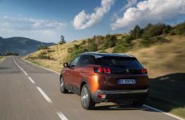Peugeot 3008, 2017, rear, action