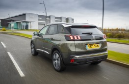 Peugeot 3008, 17 plate, rear, action