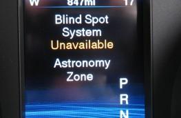 Chrysler 300C, astronomy zone alert