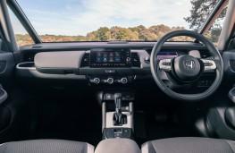 Honda Jazz Crosstar, dashboard