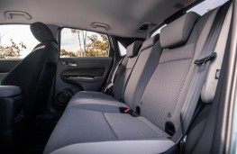 Honda Jazz Crosstar, rear seats