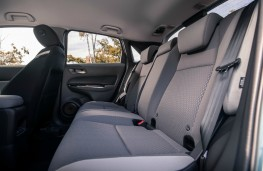 Honda Jazz Crosstar, interior, rear