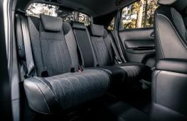 Honda Jazz, interior, rear