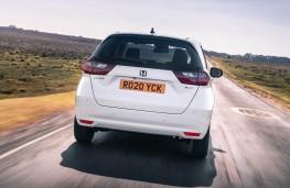 Honda Jazz, rear