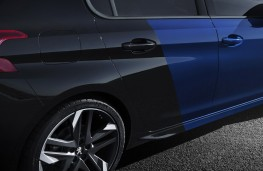 Peugeot 308 GTi, 2017, blue black Coupe Franche paint