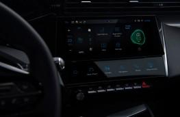 Peugeot 308, 2021, display screen