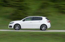Peugeot 308, 2017, side, action
