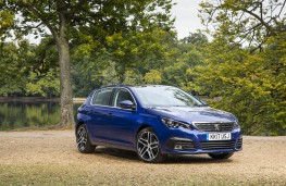 Peugeot 308, 2017, front, static