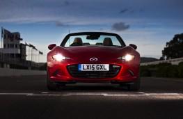 Mazda MX-5, front