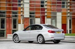 BMW 320d, 2015, rear, static