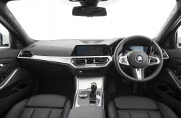BMW 330e, 2019, interior