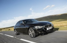 BMW 340i M Sport, 2015, front, action