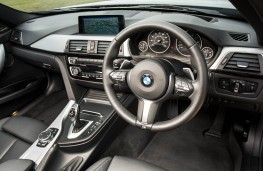 BMW 340i M Sport, 2015, interior