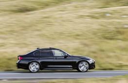 BMW 340i M Sport, 2015, side, action