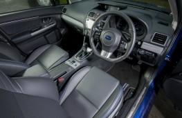 Subaru Levorg, interior