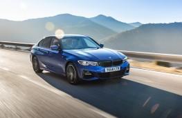 BMW 320d, 2019, front