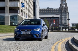 SEAT Ibiza, 2017, front, action