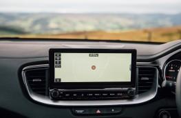 Kia XCeed '3', 2019, display screen