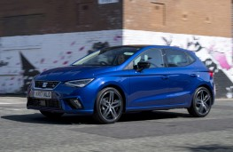 SEAT Ibiza, 2017, side, action