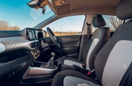 Hyundai i10, interior, front