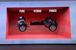 Volvo 40 concept, power graphic
