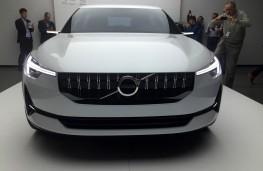 Volvo 40.2 hatchback concept, nose
