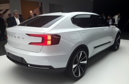 Volvo 40.2 hatchback concept, rear threequarter