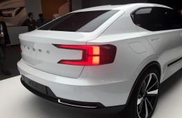 Volvo 40.2 hatchback concept, rear