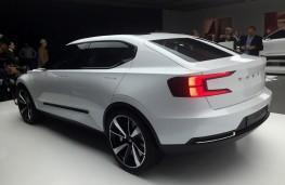 Volvo 40.2 hatchback concept, rear, full