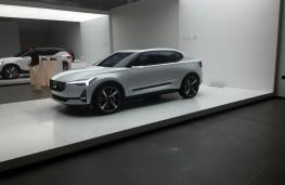 Volvo 40.2 hatchback concept, front