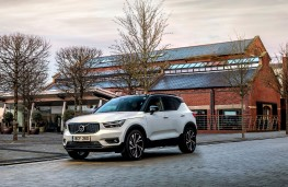 Volvo XC40 Recharge, 2021, side