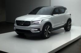 Volvo 40.1 SUV concept, front