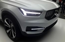 Volvo 40.1 SUV concept, nose, detail
