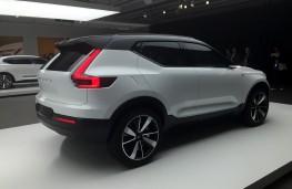 Volvo 40.1 SUV concept, rear