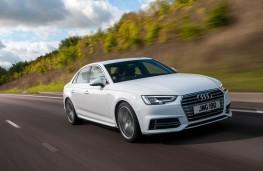 Audi A4 Front Action